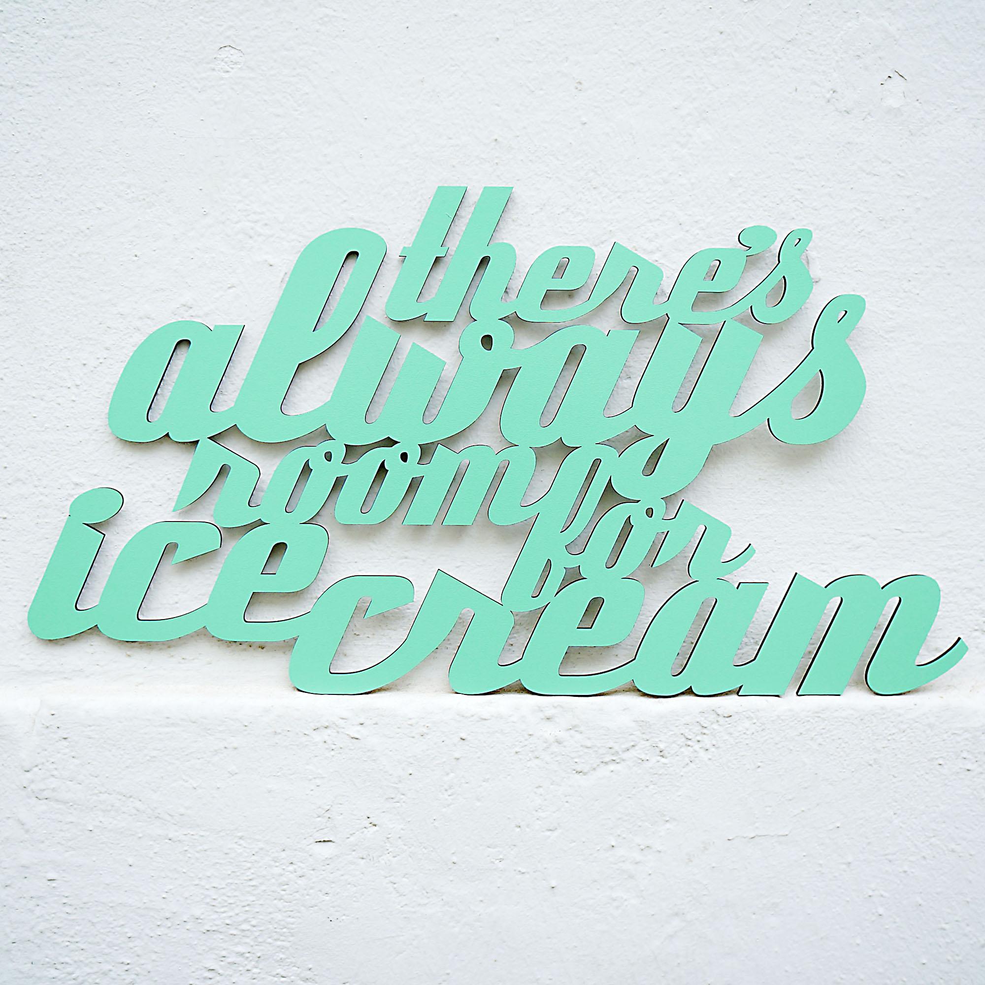 Ice Cream Lettering