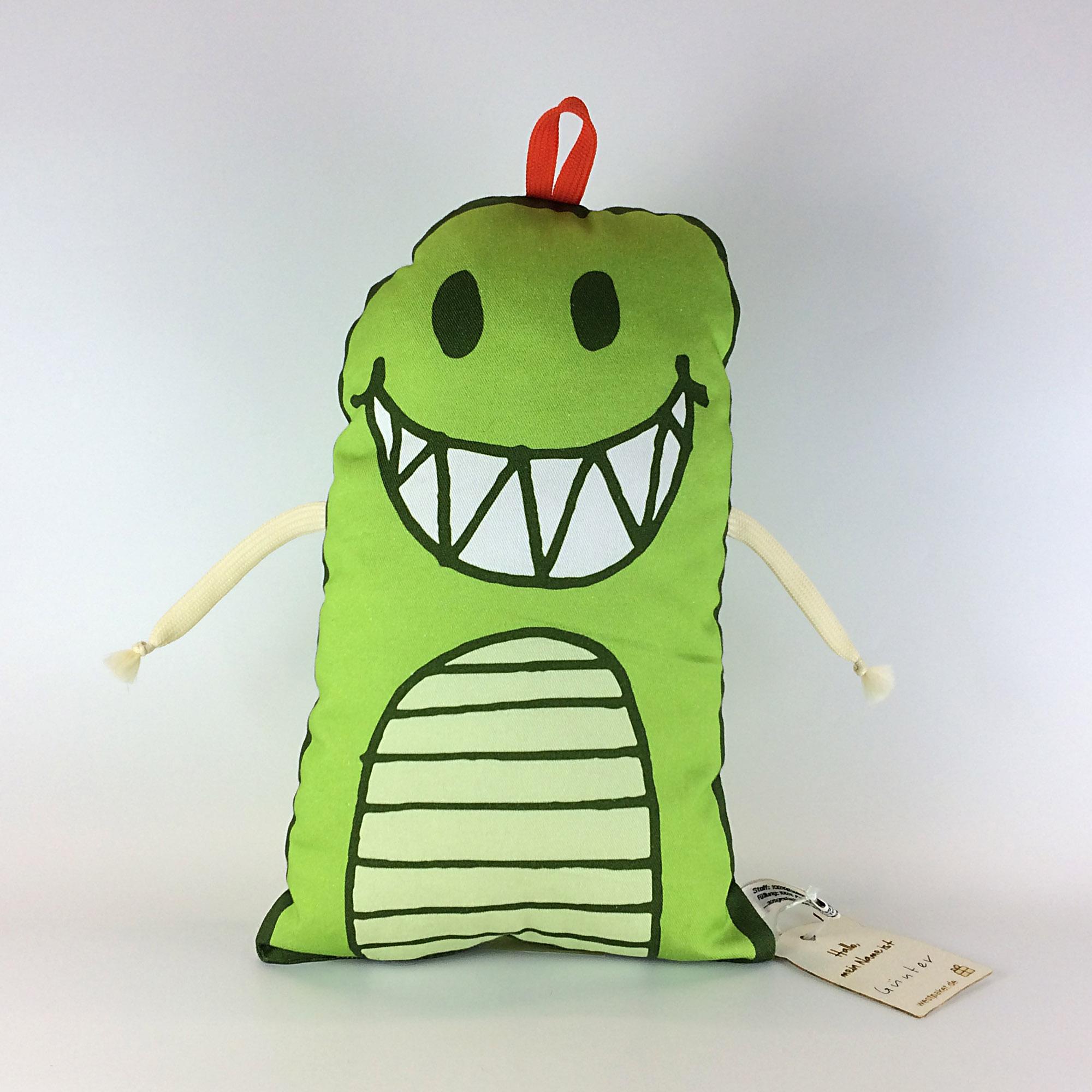 Kissen Monster