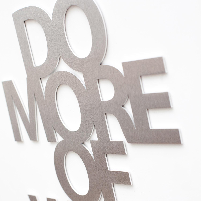 Do more Aluminium