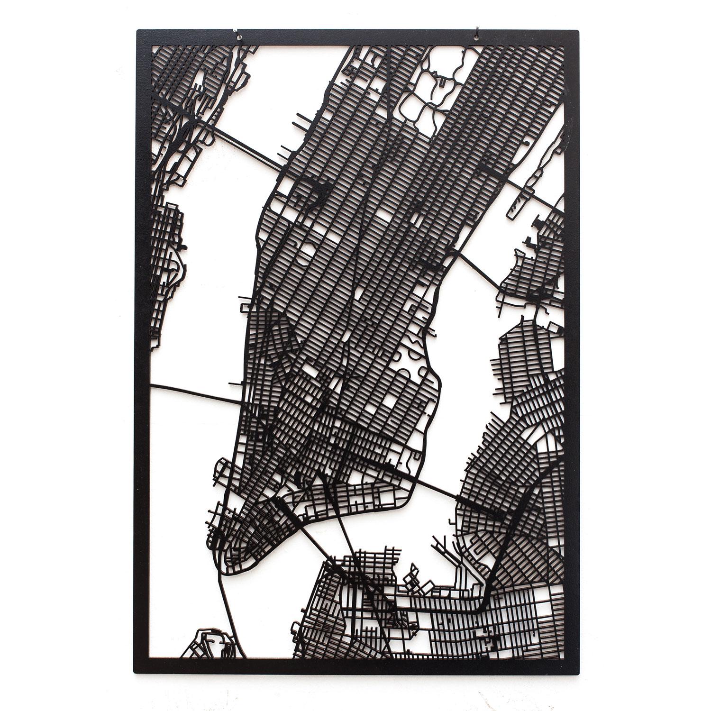 3d Stadtplan Manhattan