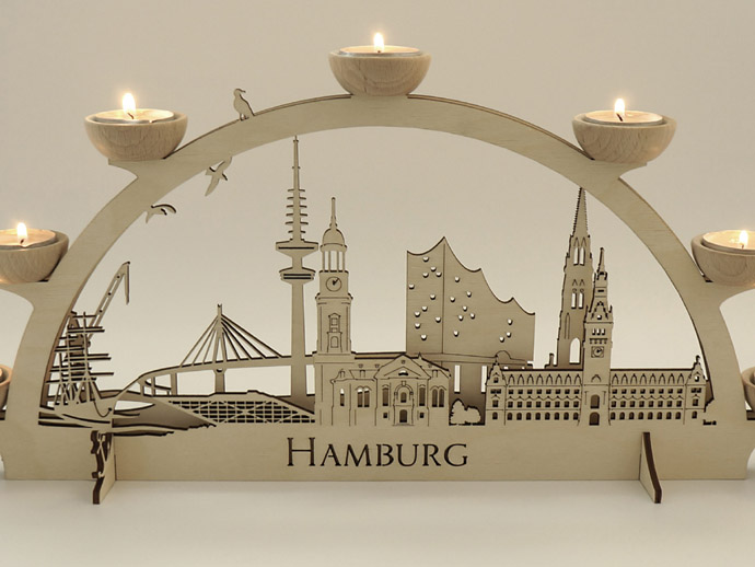 Schwibbogen Hamburg